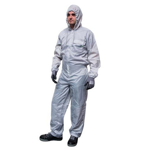 Finixa SOG Polyester spray overall with optional grey knee protection