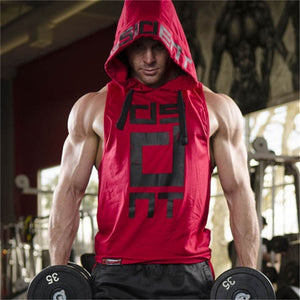 Mens Bodybuilding Workout Hoodie Activewear