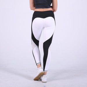 Elastic soft fitness tights custom high waist leggings yoga long pants