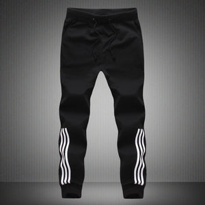 Men Joggers Striped Slim Fitted Pants