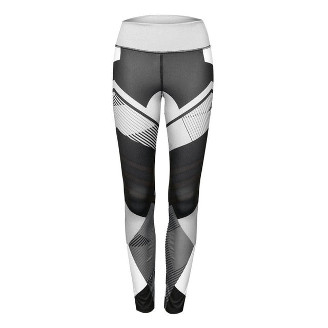 Women Quick Dry Sport Fitness Leggins