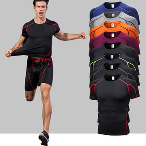 Quick Dry Compression Sport Shirt