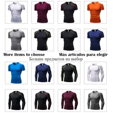 Load image into Gallery viewer, Quick Dry Compression Sport Shirt