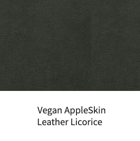 Vegan Appleskin Leather Licorice