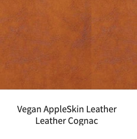 Vegan Appleskin Leather Cognac