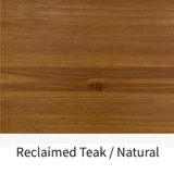 Reclaimed Teak / Natural