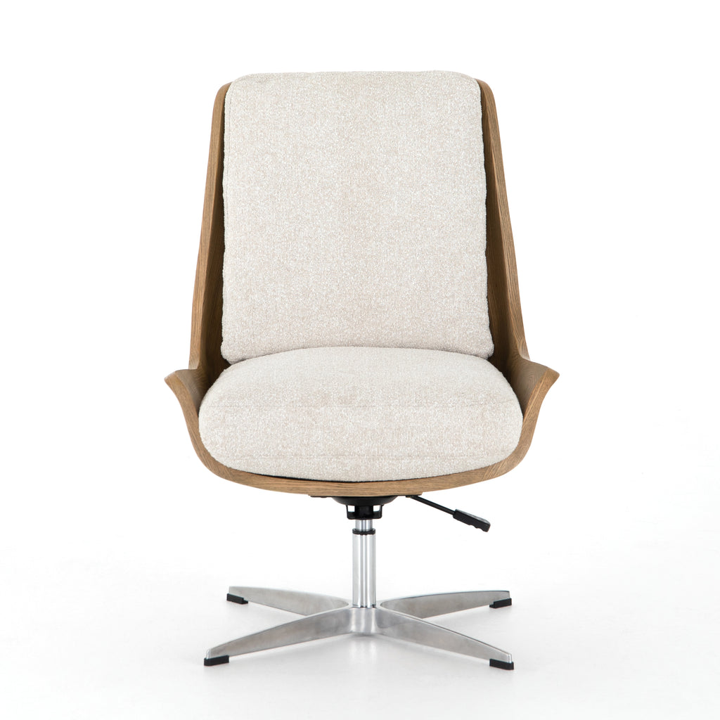 BURBANK DESK CHAIR-ELDER SAND | NEW