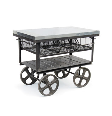 Horse Carriage Server Cart