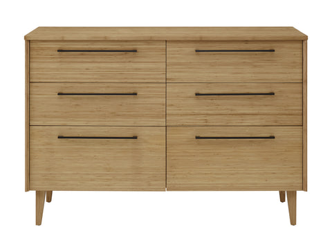 Sienna Six Drawer Double Dresser