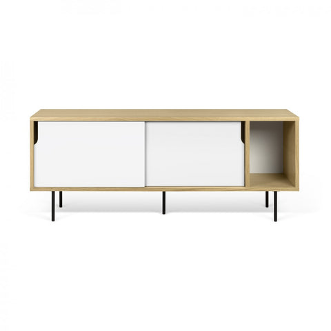 Dann 165 Sideboard - black metal legs