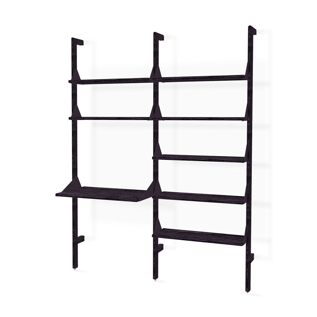 Branch-2 Shelving Unit with Desk New