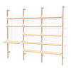 Branch-3 Shelving Unit with Desk New