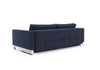 CASSIUS D.E.L SOFA, CHROME (QUEEN)