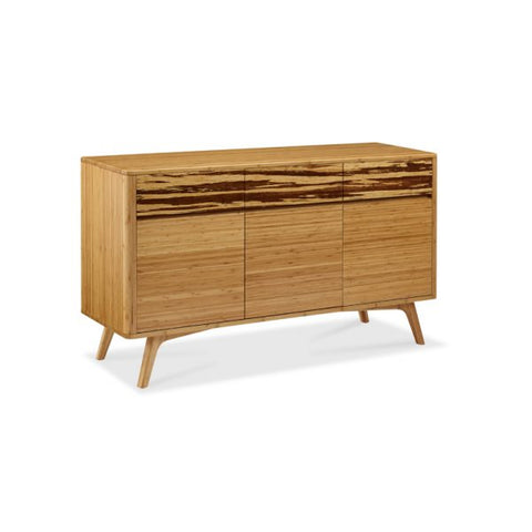 Azara Sideboard Sable or Caramelized with Exotic Tiger