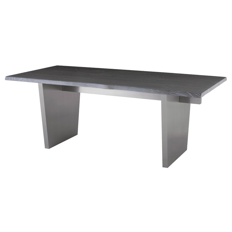 Aiden Dining Table OXIDIZED GREY