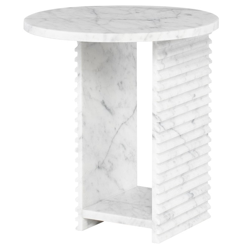 Mya Side Table - Bianco