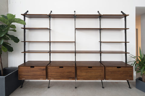 Apollo Wall System 4 Section Storage