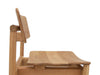 Solid Oak Wood Chair