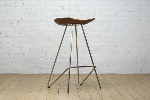Perch Stool Stainless Steel