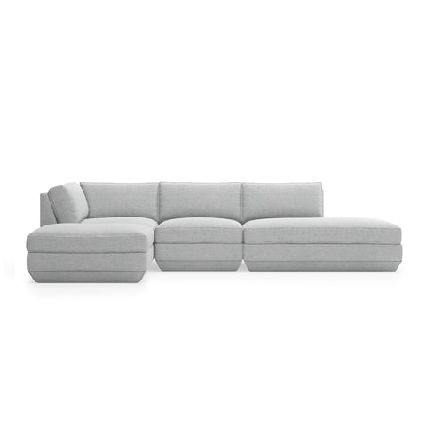 Podium 4 PC Lounge Sectional B (Left Facing) New