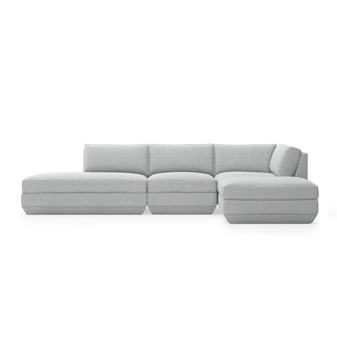 Podium 4 PC Lounge Sectional B (Right Facing) New