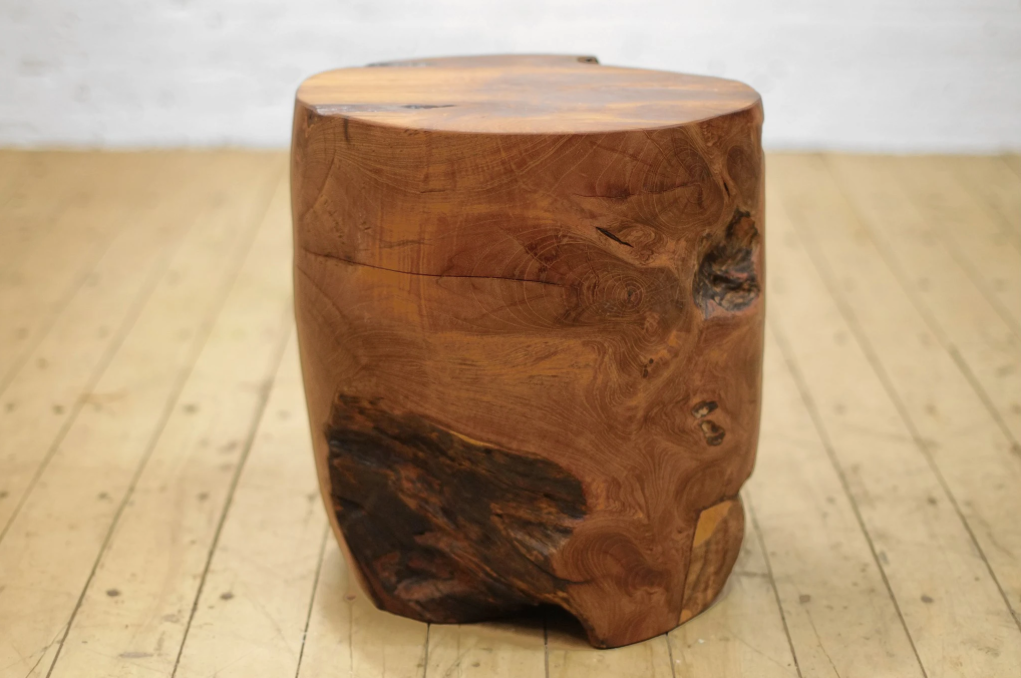 Teak Root Stump Round