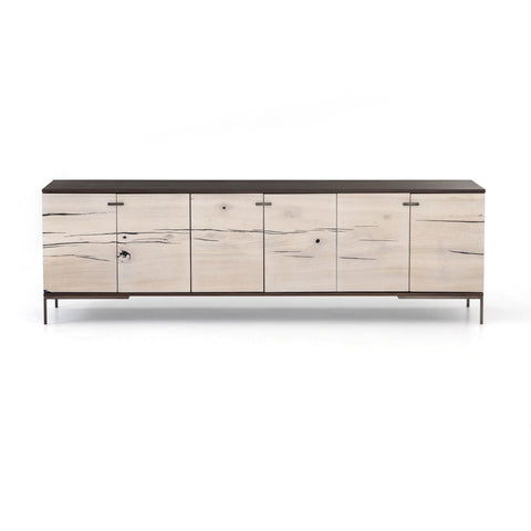 CUZCO MEDIA CONSOLE WHITE