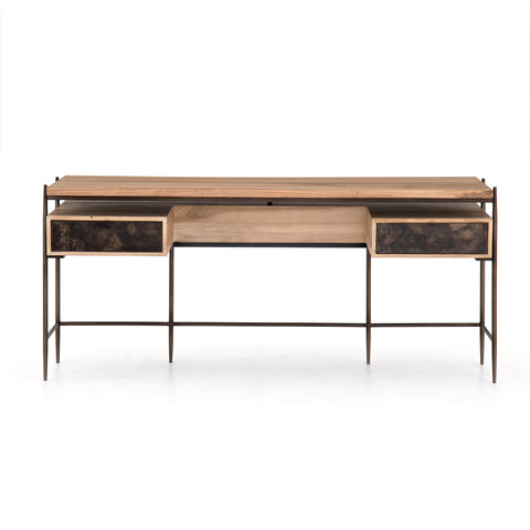 MIGUEL DESK-BLEACHED WALNUT