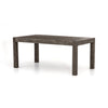 "POST & RAIL DINING TABLE ( 71"" )"
