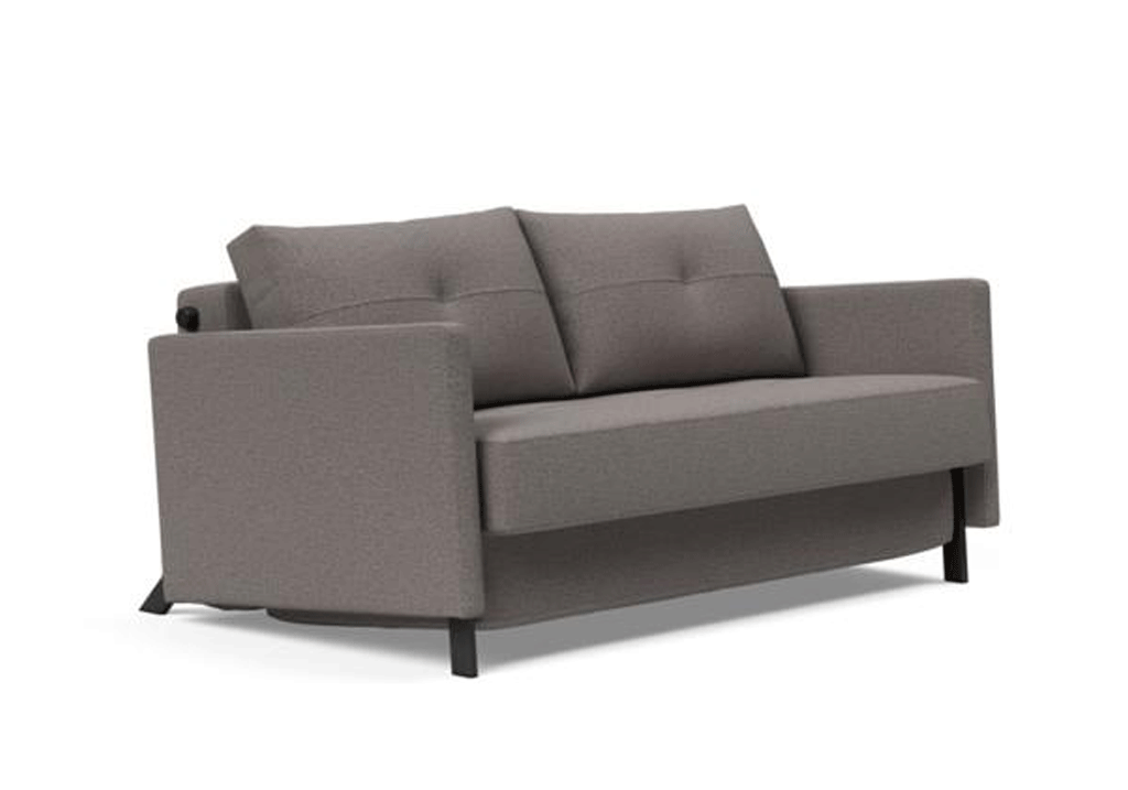 Cubed Queen Size Sofa Bed With Arms