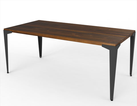 The Dart + Lurus Straight Edge Dining Table