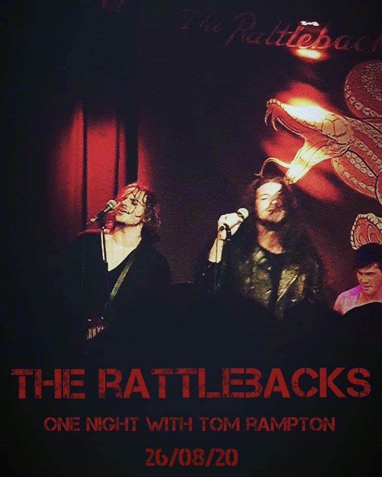 LIVE IN SURREY, THE RATTLEBACKS PROVE THAT ROCK ISN'T DEAD WITH GROUNDBREAKING PERFORMANCE