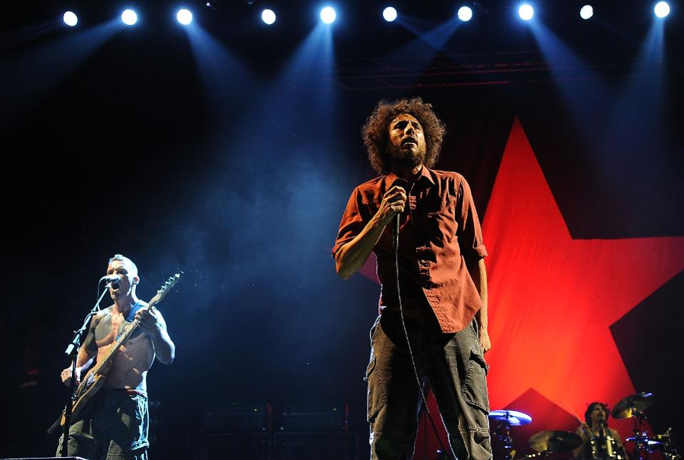 RAGE AGAINST THE MACHINE 2020 REUNION