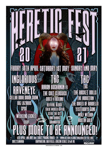 HERETIC FEST ANNOUNCE 2021 3 DAY FESTIVAL