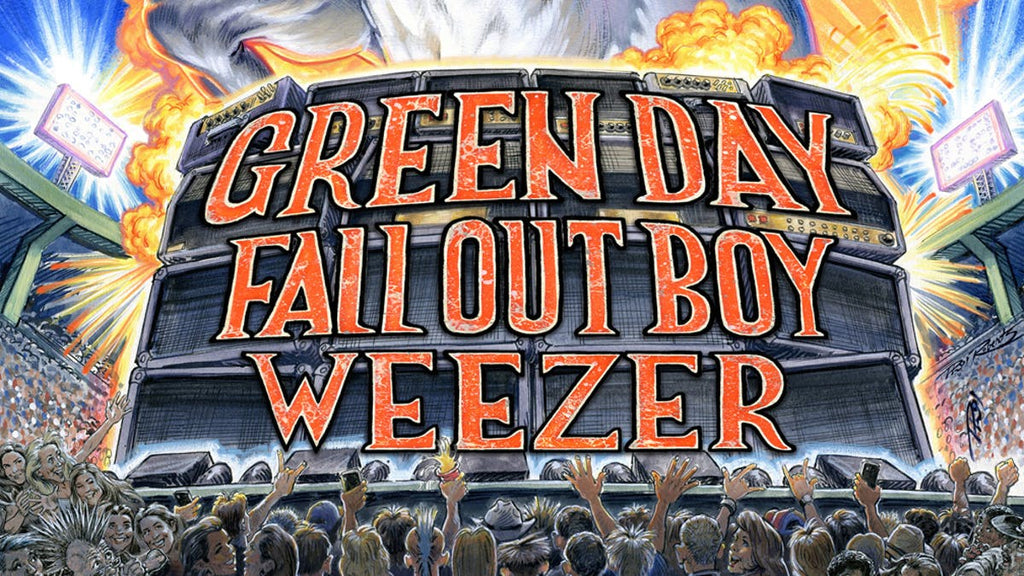 GREEN DAY, WEEZER AND FALL OUT BOY THE HELLA MEGA TOUR?