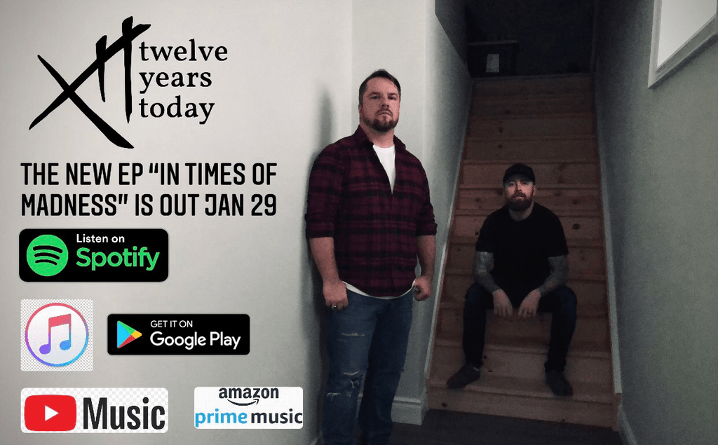 TWELVE YEARS TODAY LATEST SINGLE DEBT OF SIN & UPCOMING EP TO BE RELEASED