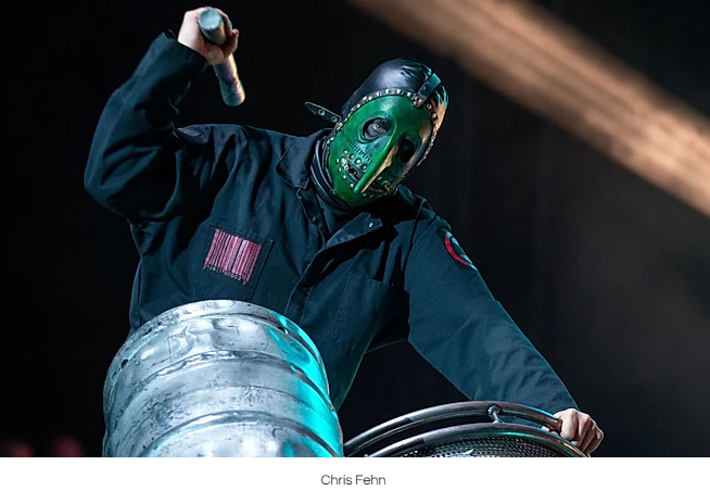 CHRIS FEHN GIVEN PERMISSION TO CONTINUE CASE AGAINST SLIPKNOT