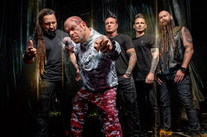 "FIVE FINGER DEATH PUNCH RELEASE NEW ALBUM ""F8"""