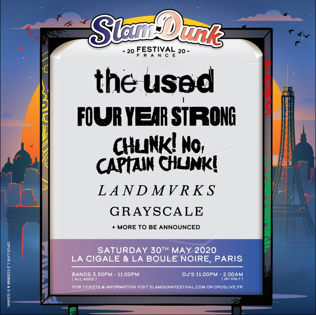 SLAM DUNK FRANCE REVEALED