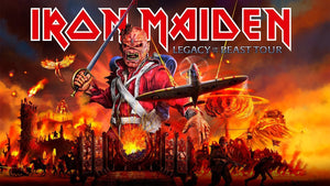 IRON MAIDEN ANNOUNCE 2020 LEGACY OF THE BEAST TOUR