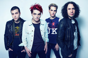 MY CHEMICAL ROMANCE RESCHEDULE UK TOUR