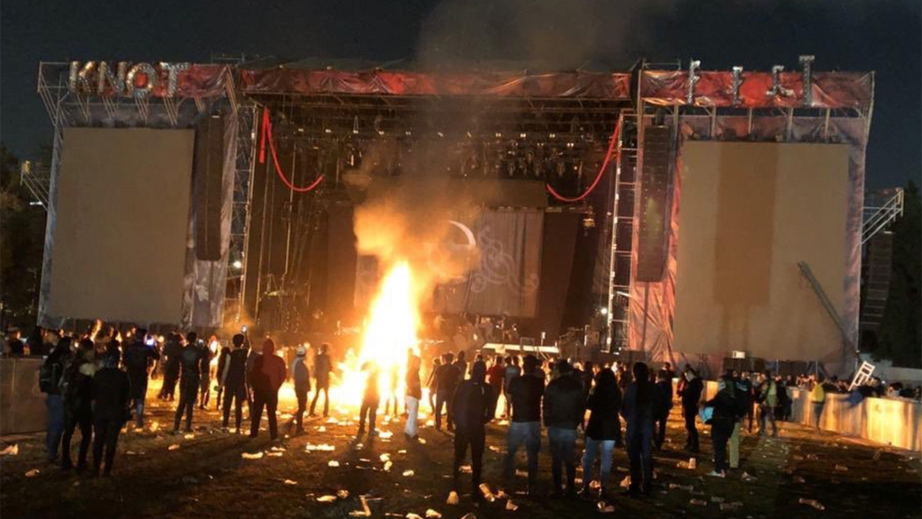 KNOTFEST MEXICO RIOTS