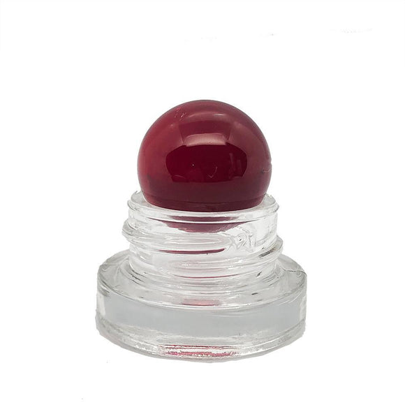Terp Pearlz- 22mm Ruby Marble for Closed Cap Action - Onpointsmoke