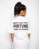 French Water Supply- Fortune T-Shirt - Onpointsmoke