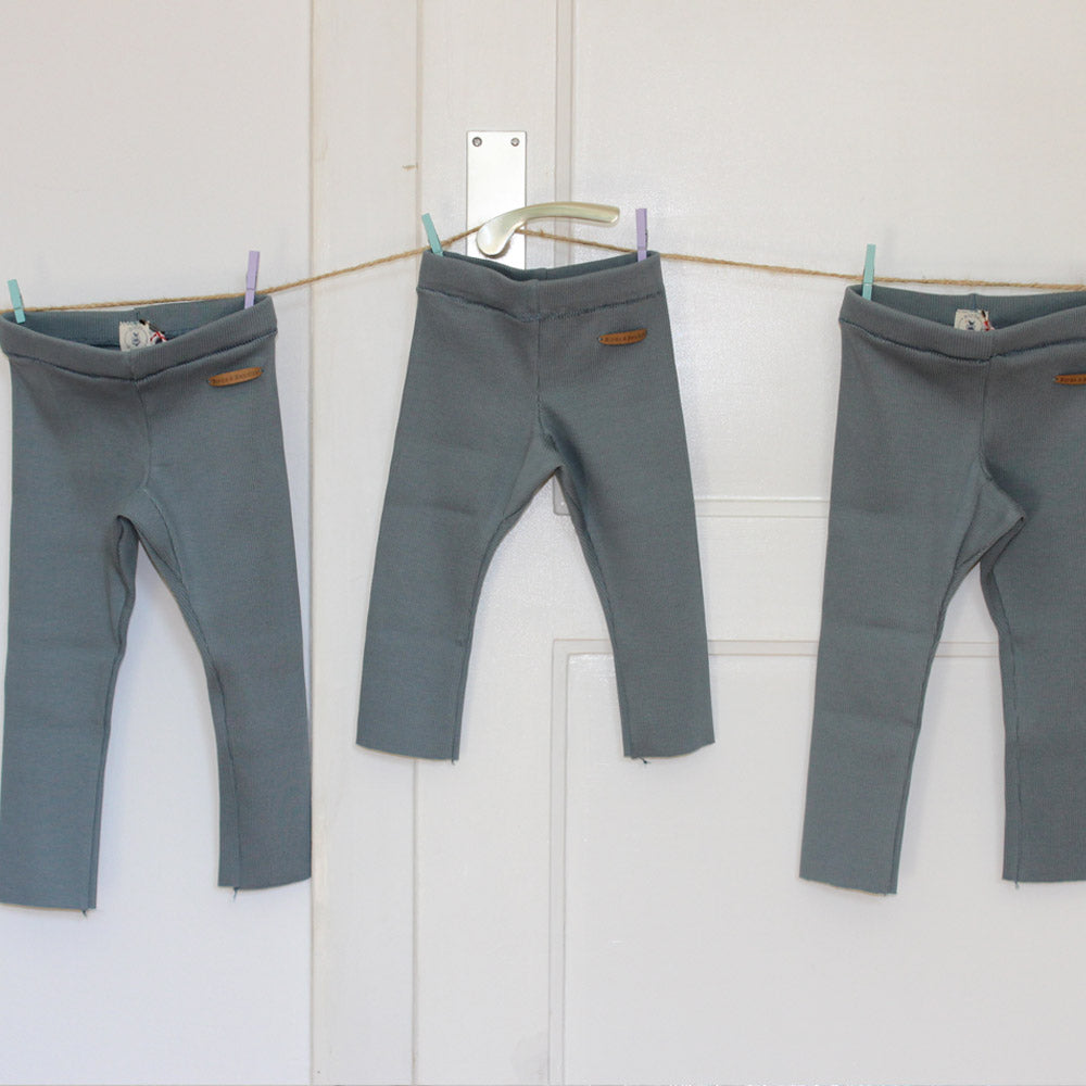 UNISEX KINDER RIPPEN LEGGINGS BENJA