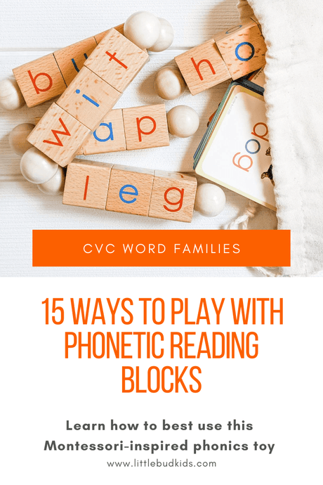 Word Families & 15 Ways to Play with Your Phonetic Reading Blocks