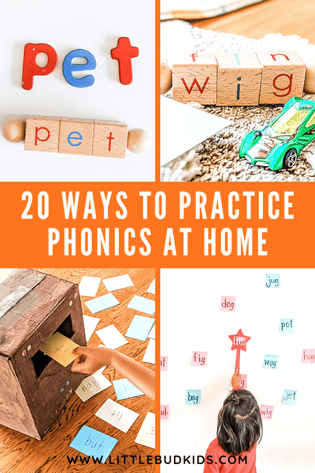 20 Ways to Practice Phonics & Establish a Strong Reading Foundation