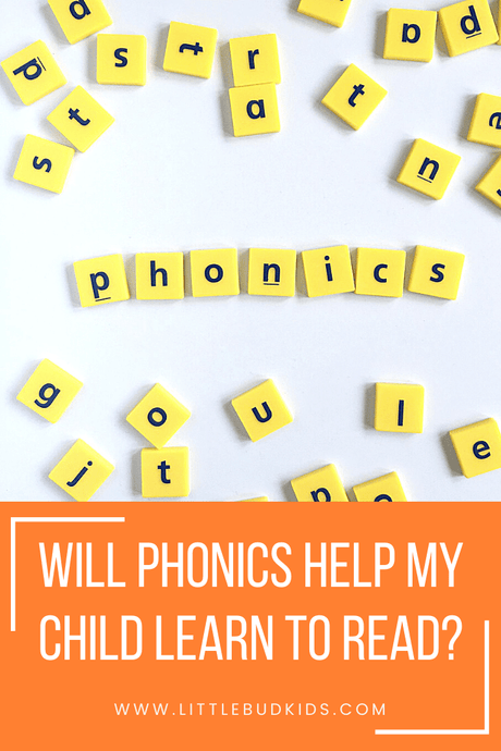 Will Phonics Help My Child Learn to Read?