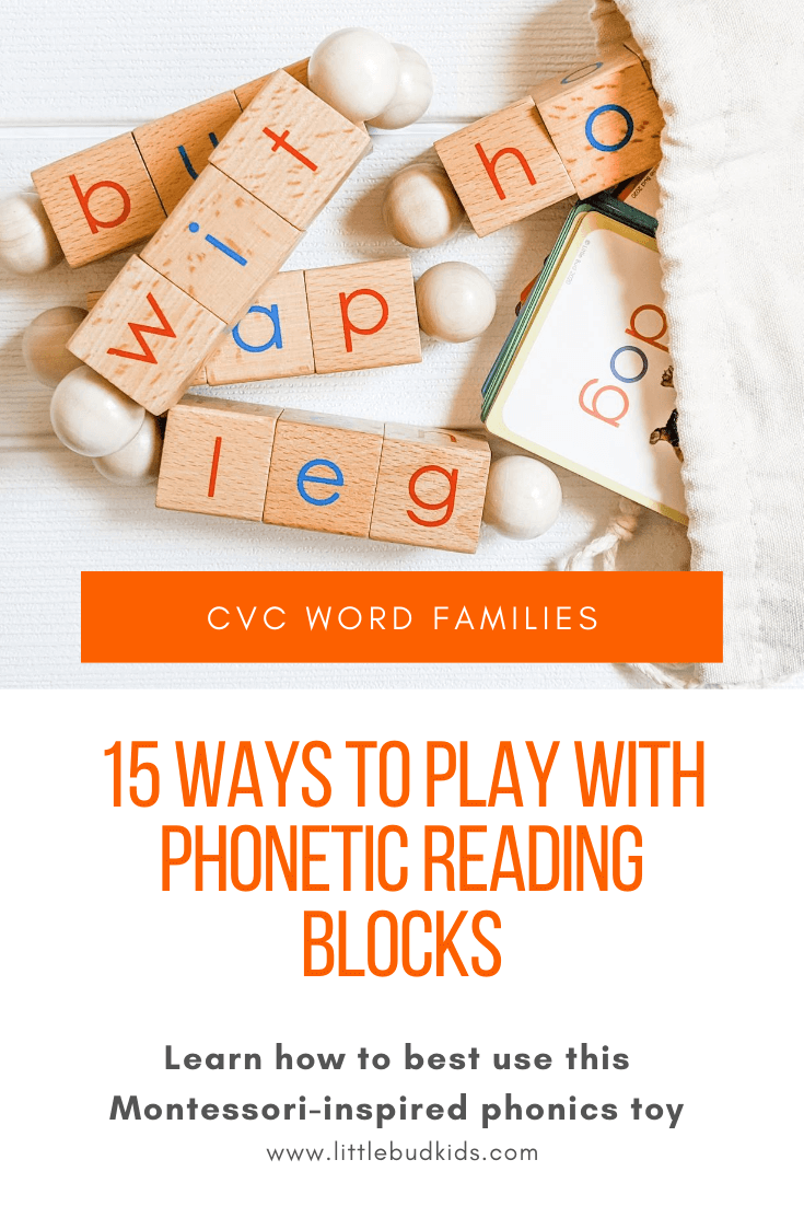 Ways to Play with Phonetic Reading Blocks