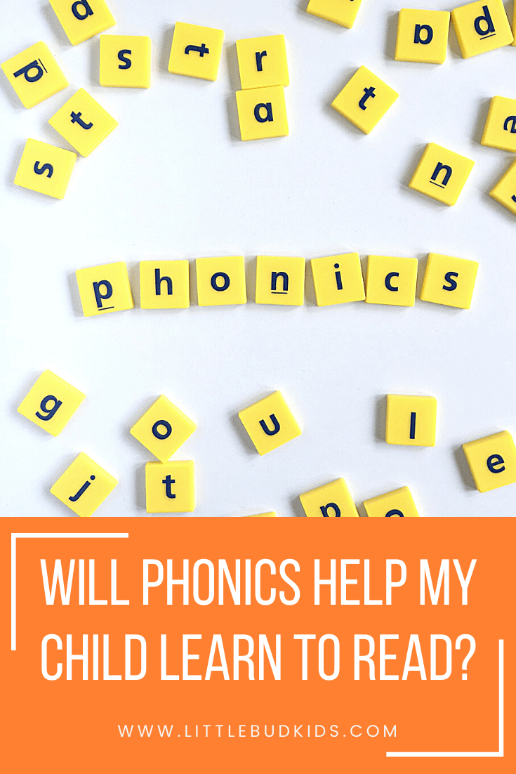 Will Phonics Help My Child Learn to Read? Learn why phonics is essential for reading fluency